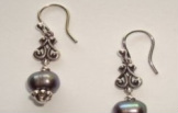 Misty Pearl Earrings