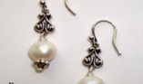White Aura Earrings
