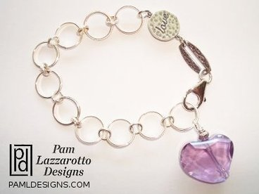 Love and Amour - Sterling Silver Bracelet - Item #1180-B