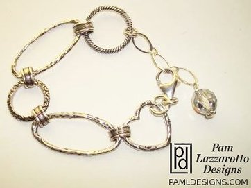 The Links of Love - Sterling Silver Bracelet - Item #1288-B
