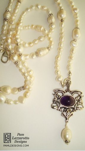 Alluring Amethyst Necklace - Item #1313