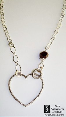 Open Heart Necklace - Item #1375